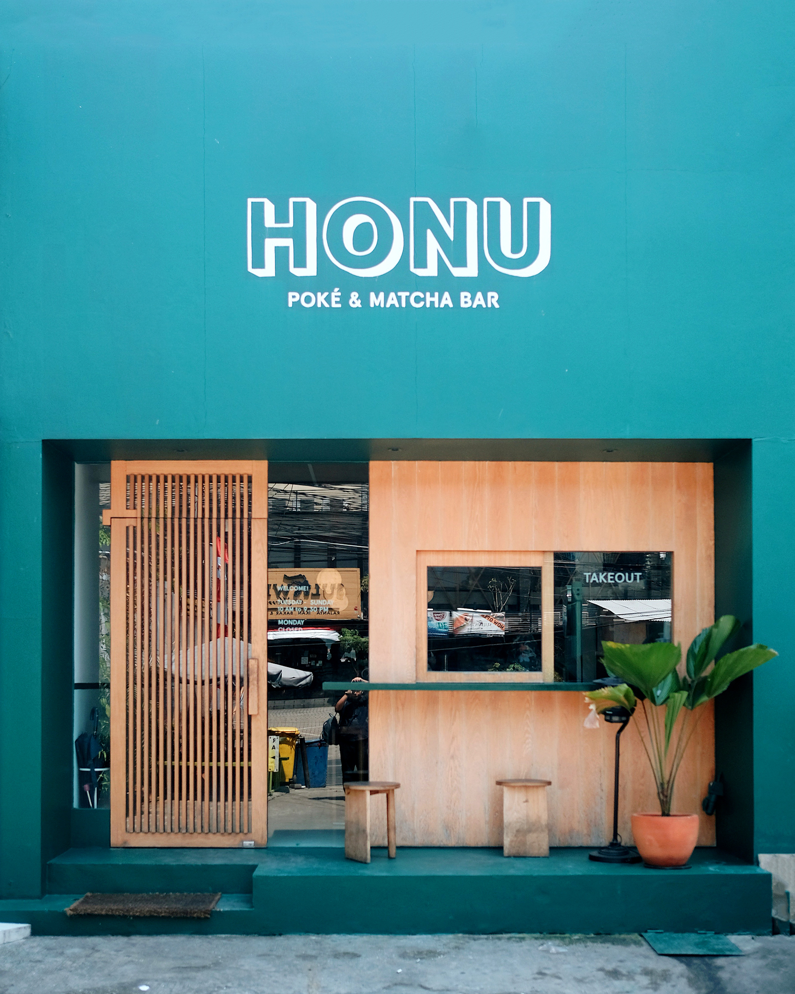 Hawaii x Japan : Honu Poke & Matcha Bar, Kemang